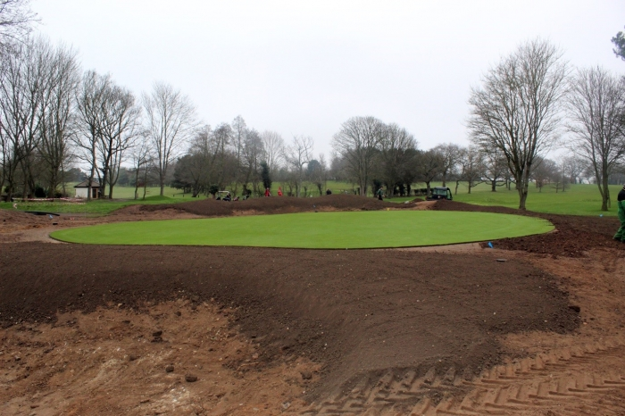 TOPSOIL Webinar Presentation; Construction of Tees and Bunker Surrounds