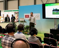 Topdressing Presentation at SALTEX 2018