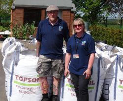 TOPSOIL donation will help injured service personnel at DMRC Stanford Hall