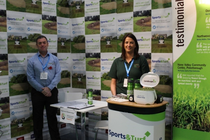 TOPSOIL exhibit at Saltex 2019