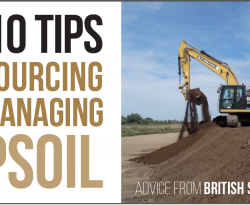 Top 10 Tips for Sourcing and Managing TOPSOIL as featured in Future Arc magazine March 2019