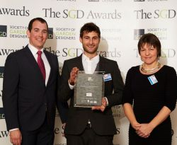 SGD Awards Dinner: Student wins top award for design plans at Royal William Yard