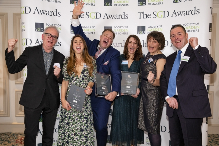 TOPSOIL Sponsors Two Categories at the Society of Garden Designers Awards 2020